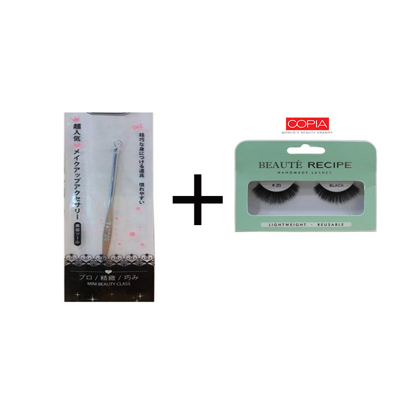 Beaute Recipe Acne Stick 1073-1 + Beauty Tools Eyelash 20 Black