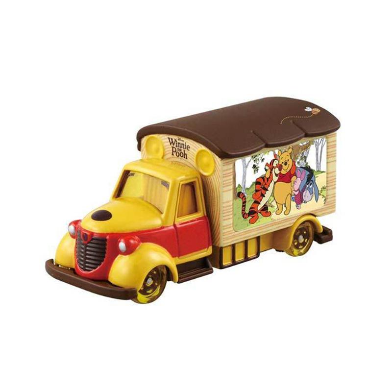 Tomica Disney Motors Goody Carry Winnie The Pooh