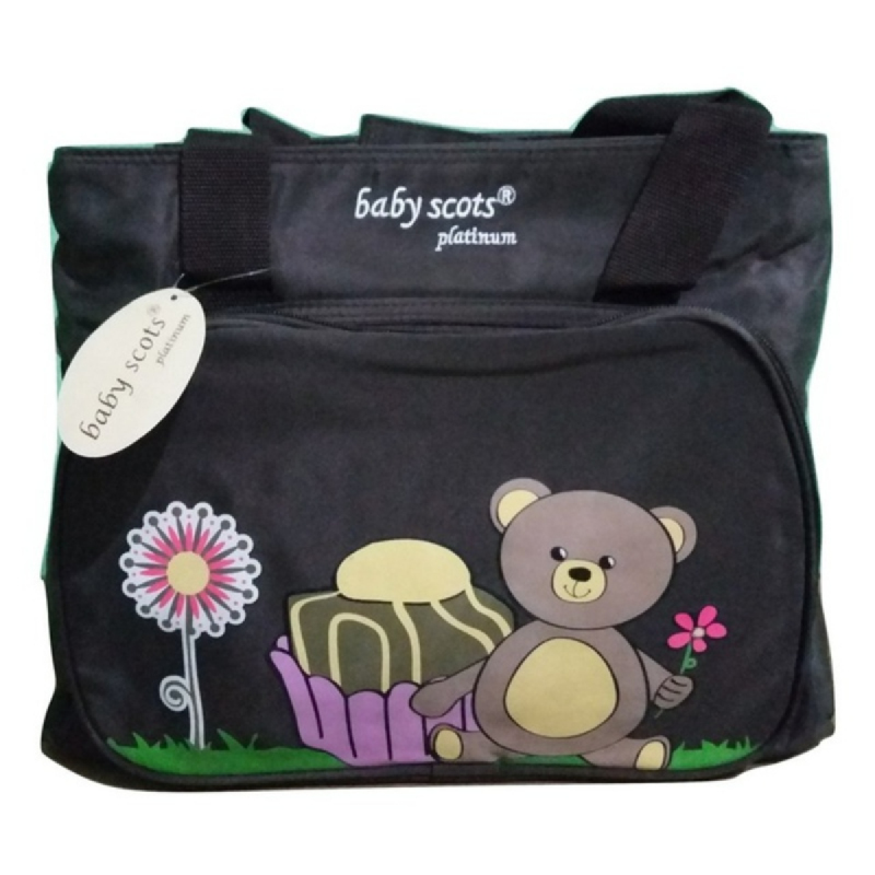 Baby Scots PlatinumScots Mommy Bag 042MB042 Black