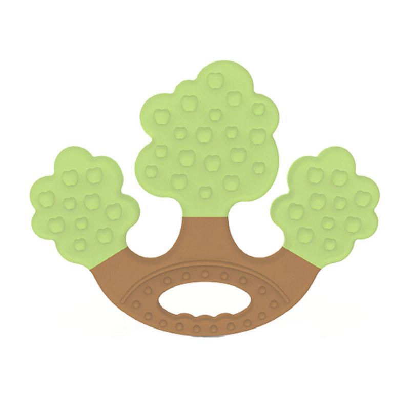 Apple Tree Teether Gigitan Bayi - Green