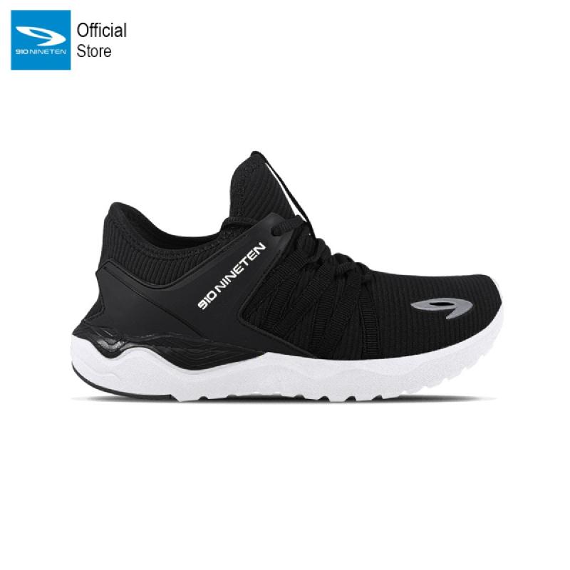 910 Nineten Harada 1.5 Sepatu Lari - Hitam Putih
