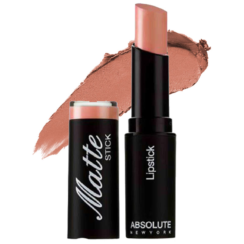 Absolute New York Matte Stick Lipstick Nude Pink