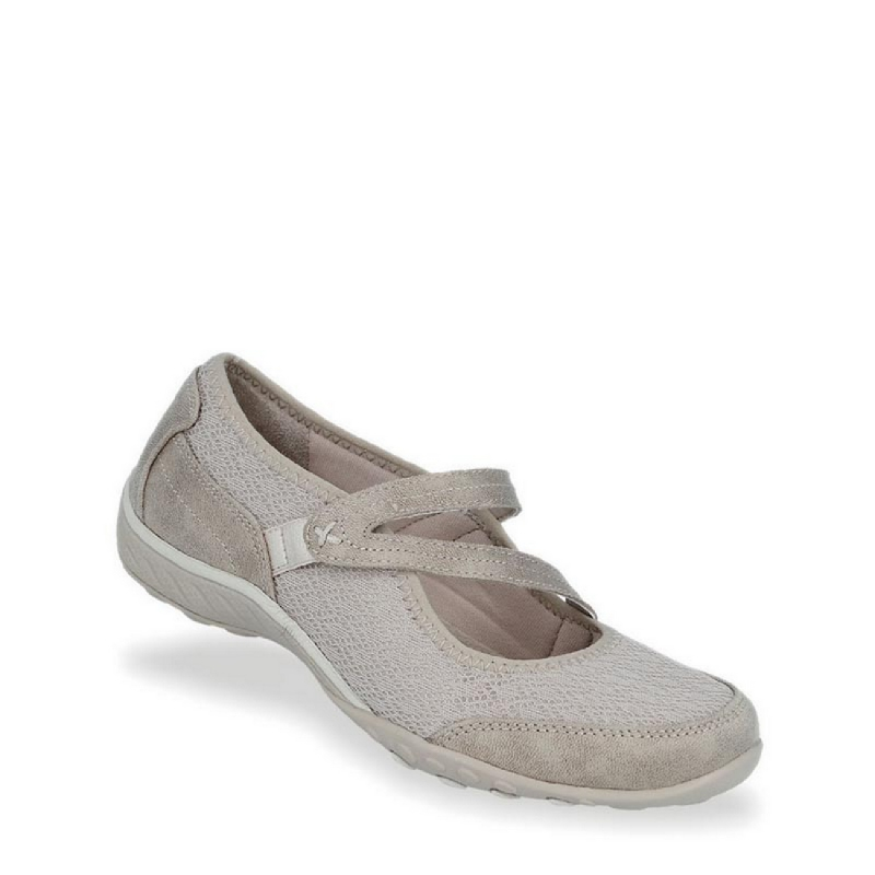 Skechers Relaxed Fit Breathe Easy - In Good Spirits Women Leisure Shoes Khaki