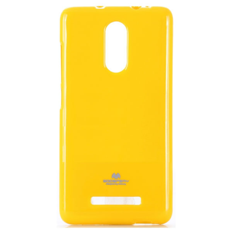 Goospery Jelly Case for Xiaomi Note 3 - Kuning