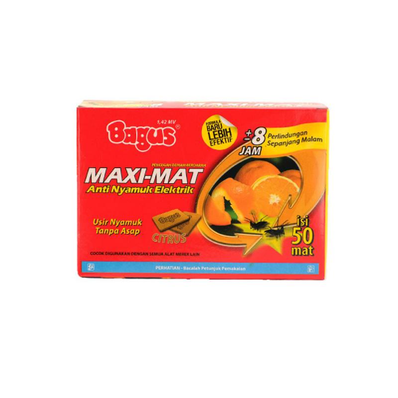 Bagus Maxi Mat Citrus Refill 50 pcs