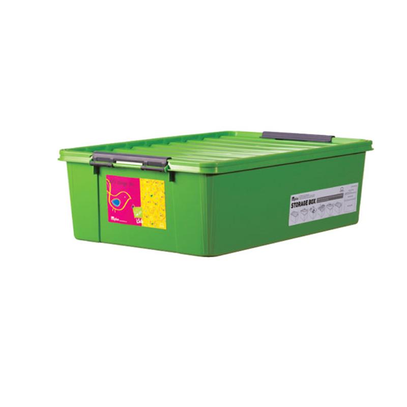 Lock & Lock INP112G INPlus Easy Clip Box 30L Green