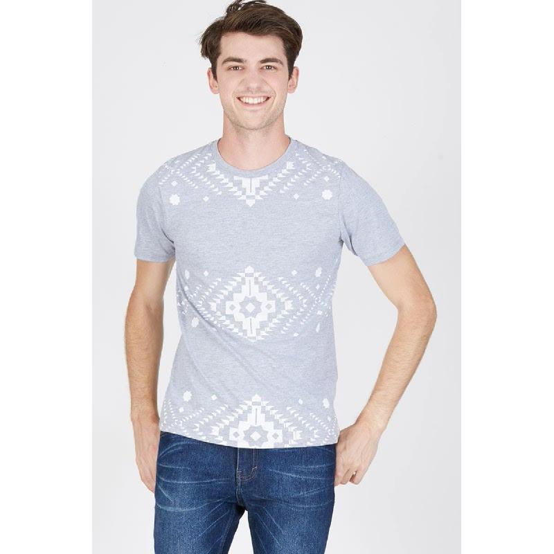 Men Aztec Tshirt Misty