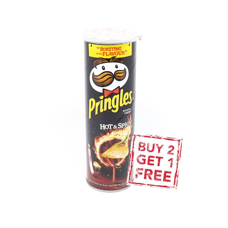 Pringles Hot & Spicy 110G (Buy 2 Get 1)