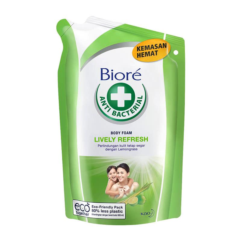 Biore Body Foam Lively Refresh 450Ml