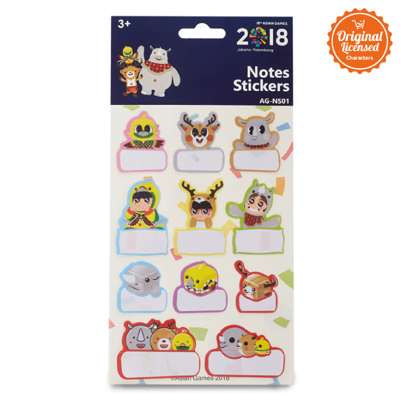Asian Games Signature Sticker AG-NS001