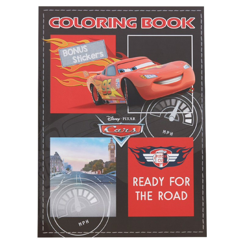 Cars Coloring Book Large (Ready For The Road)