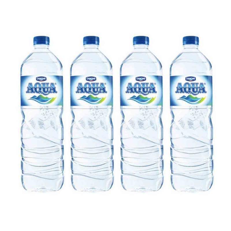 Aqua Mineral Water 1500 Ml (Buy 3 Get 1)