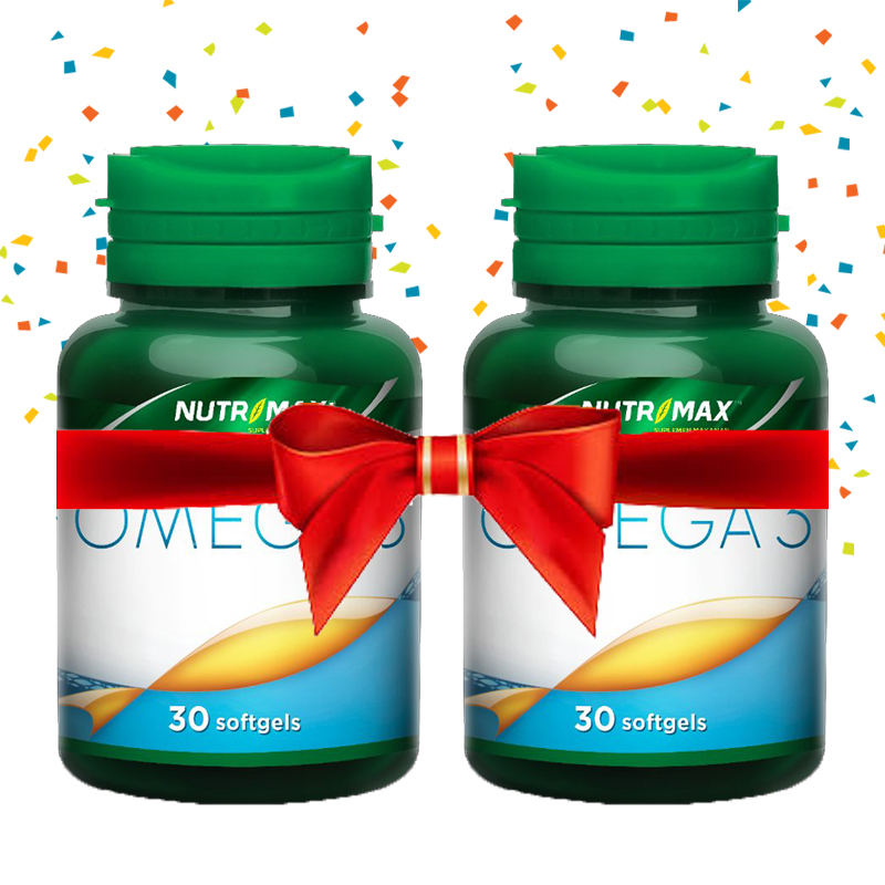 Buy 2 Bottle Nutrimax Omega 3 30 Softgel