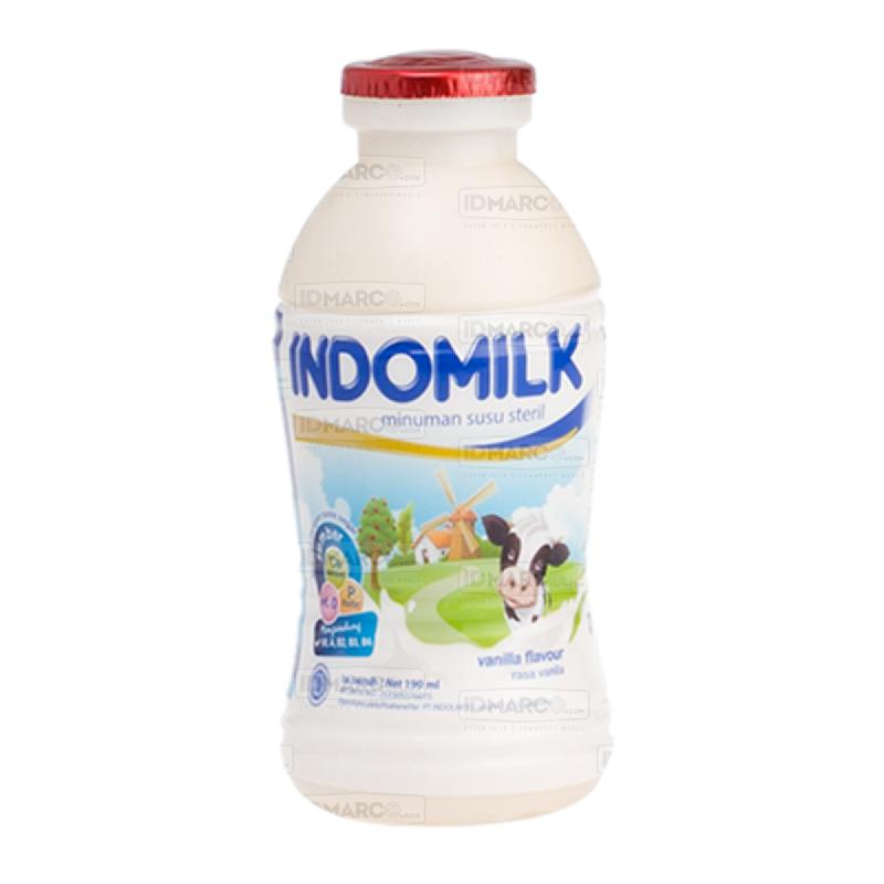 Indomilk Susu Botol Cair Vanila 190 ml