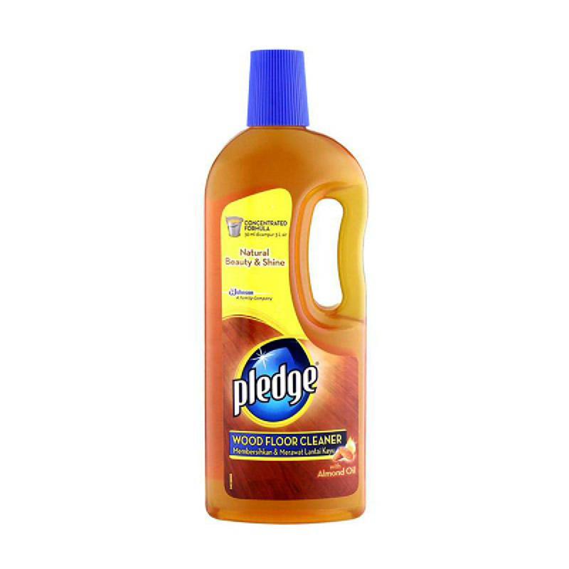 Pledge Wood Floor Cleaner Botol 800Ml