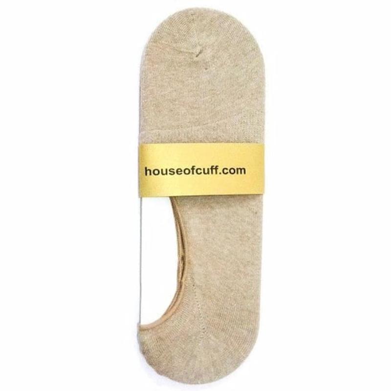 House Of Cuff  Kaos Kaki Shoe Liner Socks Cream