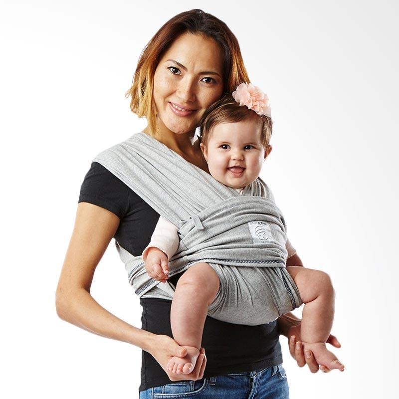 Baby K'Tan Basic Heather Grey Gendongan Bayi [Size S]