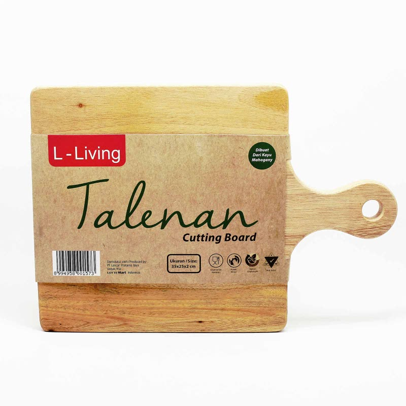 L Living Talenan - Cutting Board Sq 35X25X2 Cm
