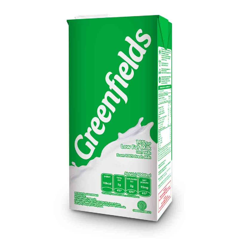 Greenfields Low Fat 1 L
