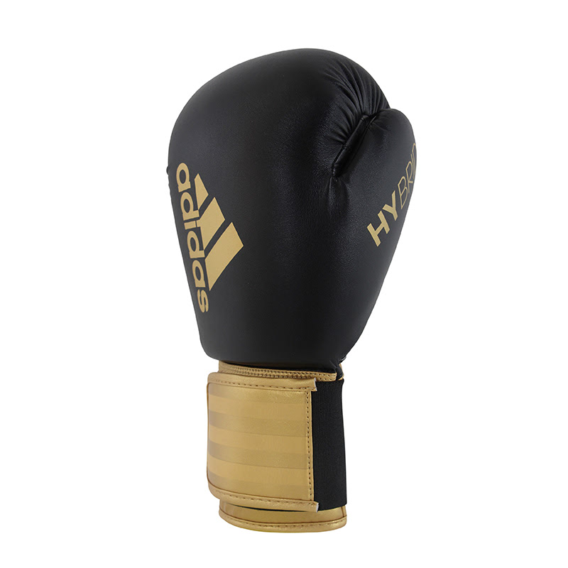 Adidas Combat Hybrid Boxing Glove 100 Black Gold
