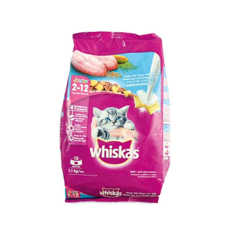 Whiskas Pocket Ocean Fish 1.2Kg