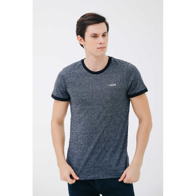 3Second Men Tshirt 9801.Dark Grey