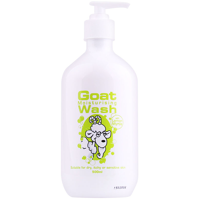 Core Metric Goat Body Wash Lemon Myrtle 500ml