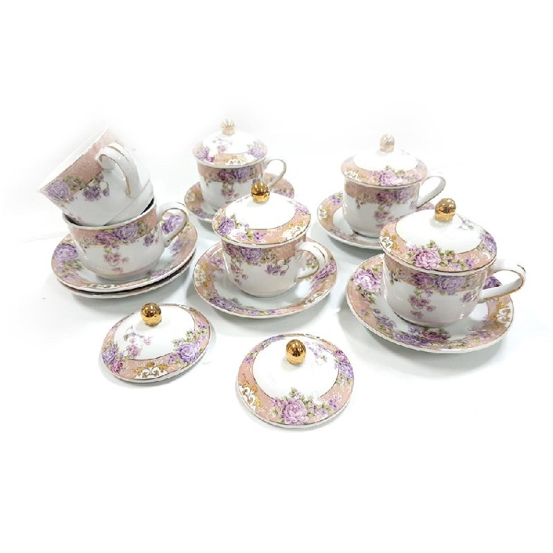 Vicenza Tableware Cup & Saucer Y85 Magnolia