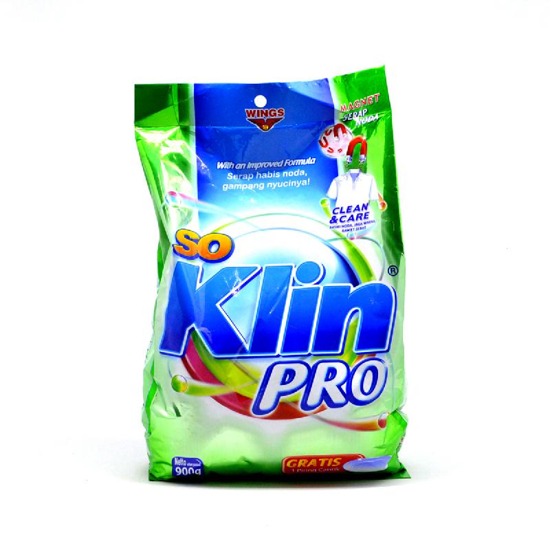 So Klin Powder Detergent Pro 900G