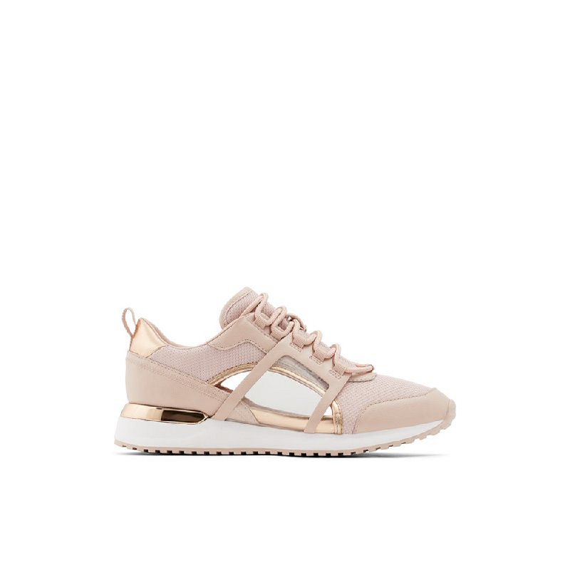 ALDO Ladies Shoes Sneakers SARACEN-653 RoseGold