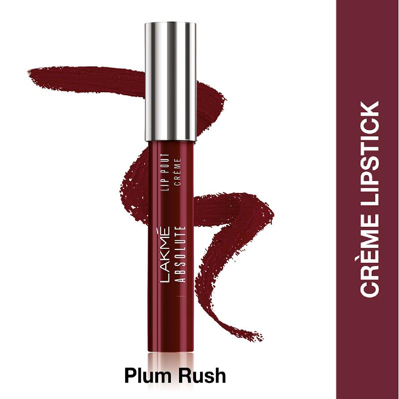 Lakme Absolute Reinvent Lip Pout Crème Plum Rush