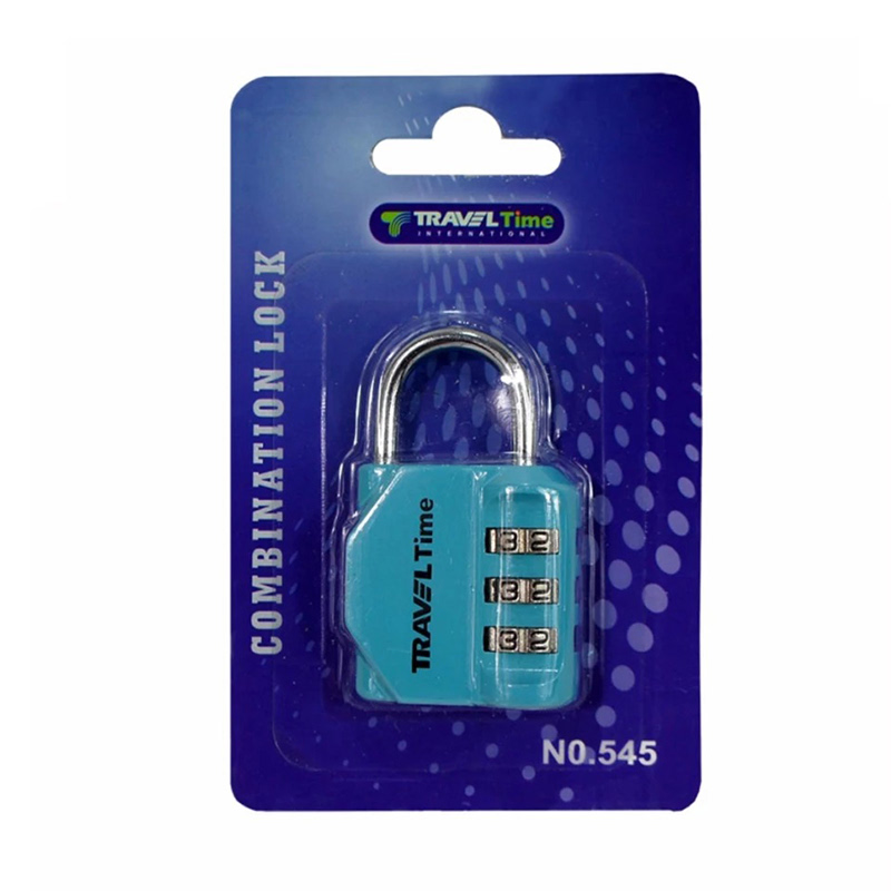 Traveltime Combination Lock 545 Tosca