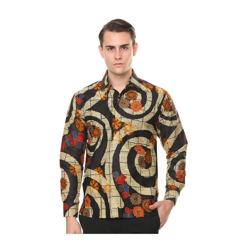 Agrapana Cadudasa 1 Kemeja Batik Print Lengan Panjang