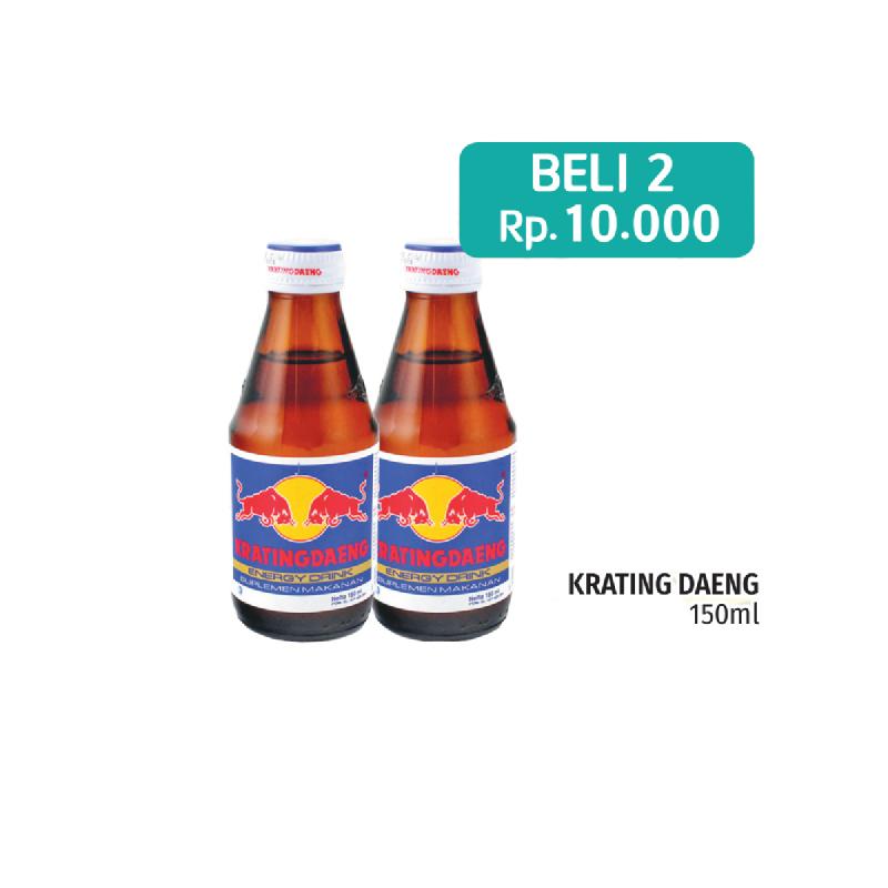 Krating Daeng Reguler  150Ml (2 Pcs)