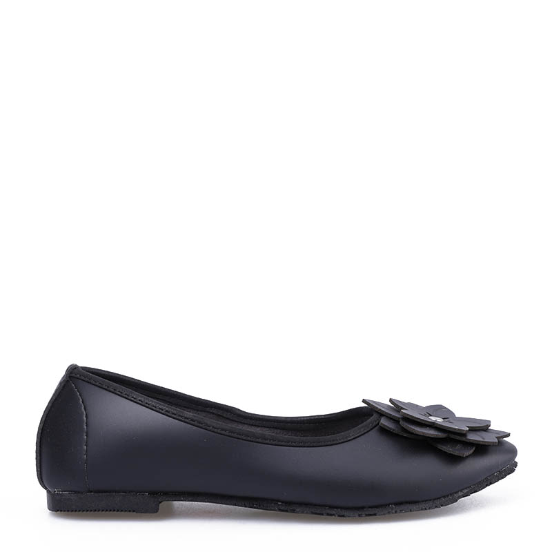 Anyolorich Flat Shoes BL03-Black