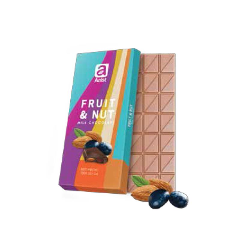 Aalst Chocolate Fruit & Nut Milk Chocolate 100 Gr