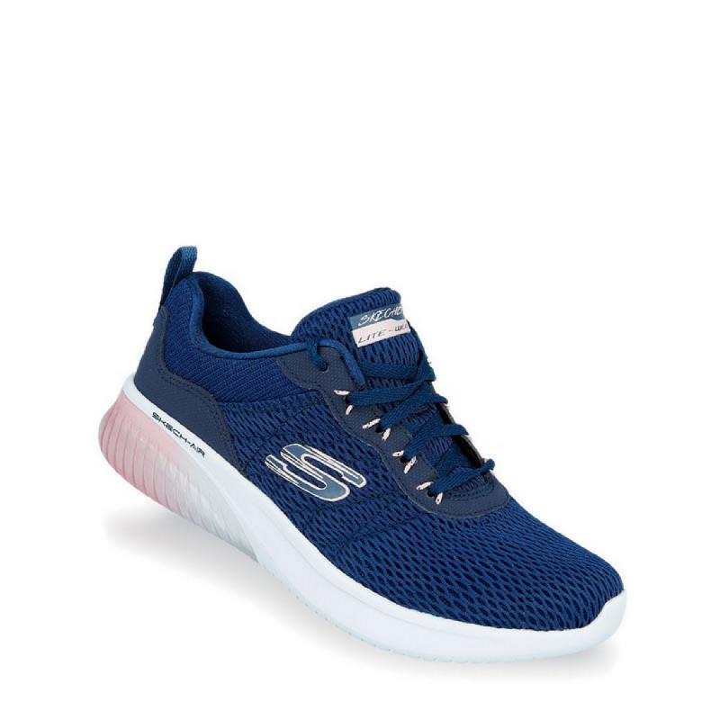 Skechers Skech-Air Ultra Flex Women Sneakers Shoes Navy