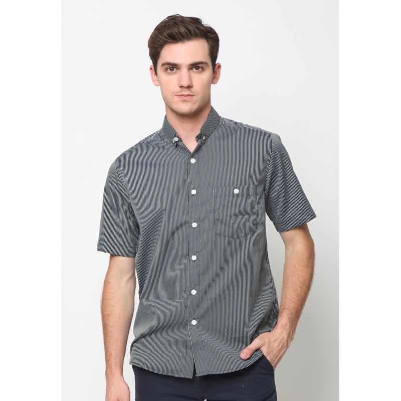 17Seven Shirts Shortshirt Zanzhan Black