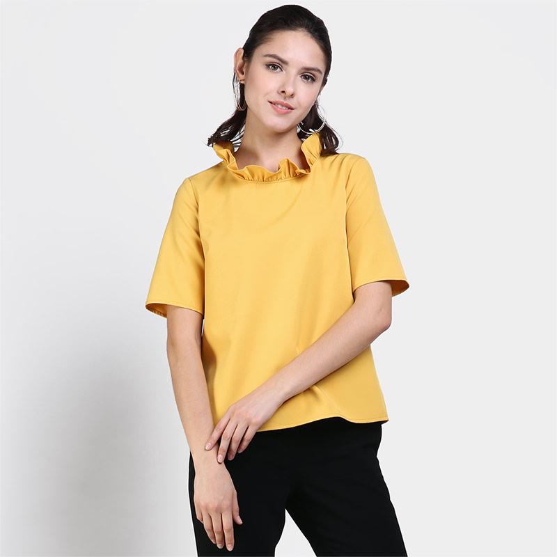 Invio Iliana IB-2467 Yellow Blouse