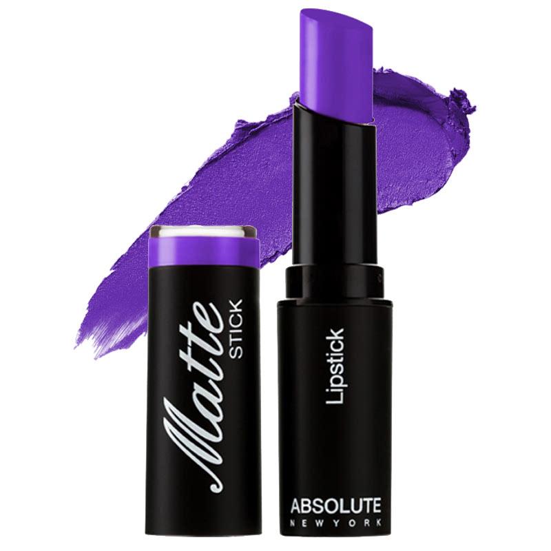 Absolute New York Matte Stick Lipstick Royal Purple