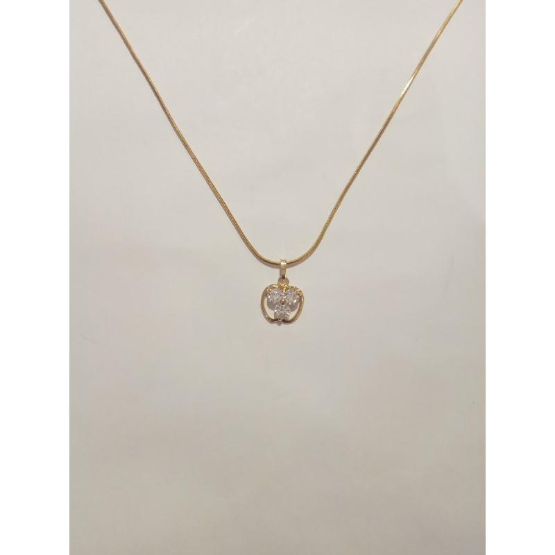 Ballin - Women Necklace FF N0004G Gold