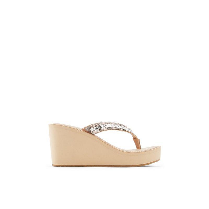 Aldo Ladies Footwear Wedges Allumette-270-Bone
