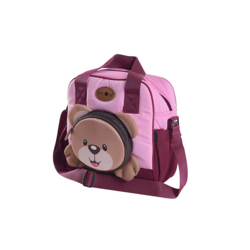 Baby 2 Go Medium Bag  Bear Series beruang B2T1202 Pink