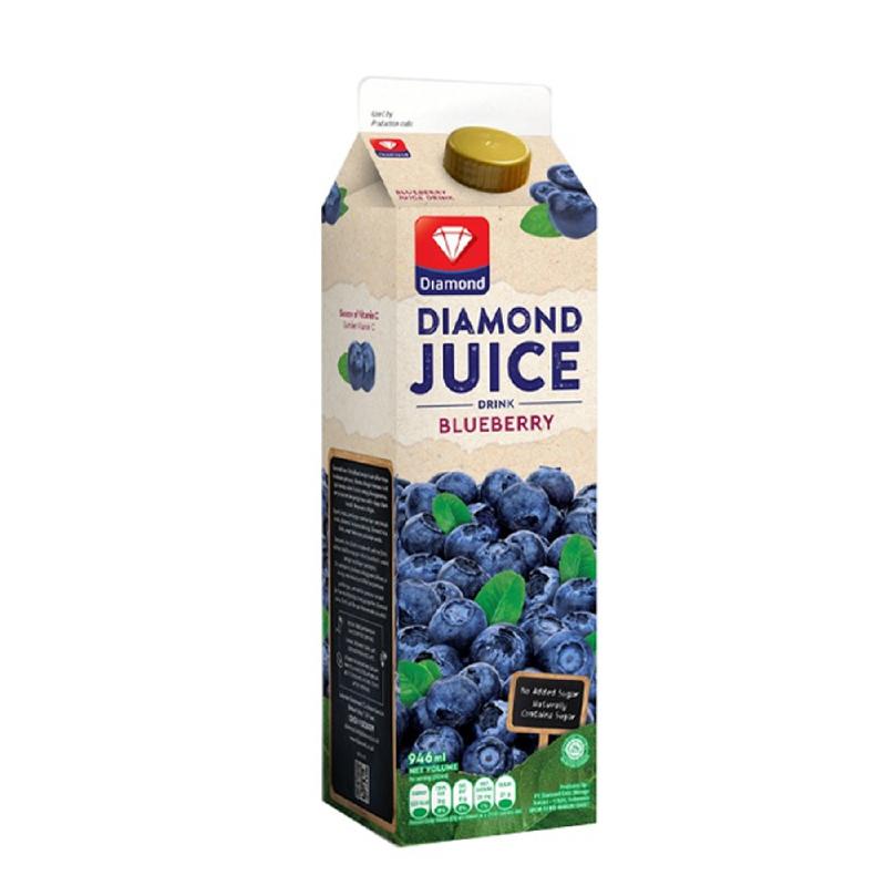 Diamond Juice Bluberi 1L