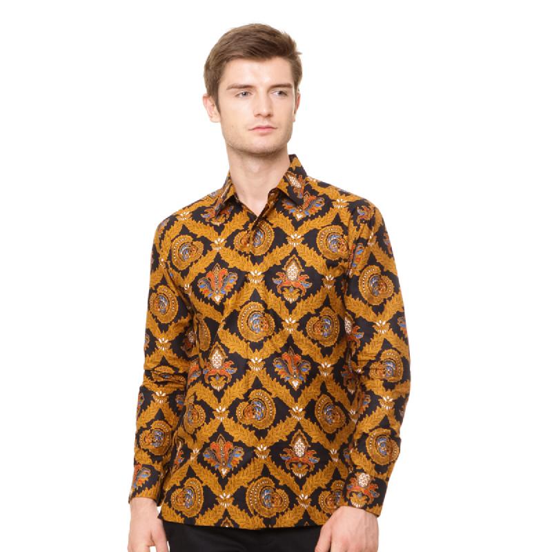 Agrapana Batik Lengan Panjang 102.02.172.1.1.Coklat