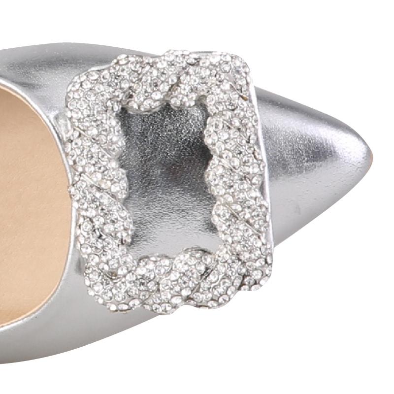 Amante Heels Betsy L17 Silver