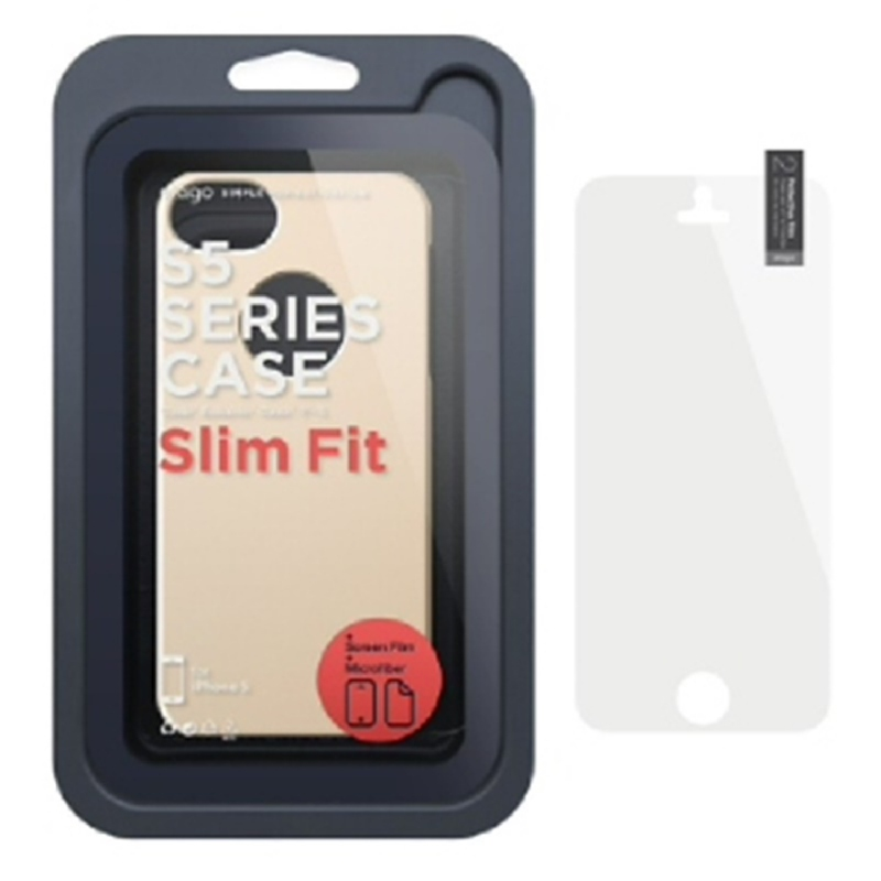 Elago Slimfit Case for iPhone SE, 5, 5S - SF Champagne Gold
