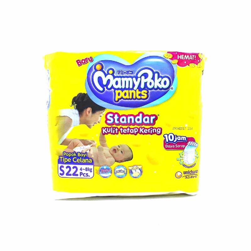 Mamypoko Diaper Pants Standar Size S 22S