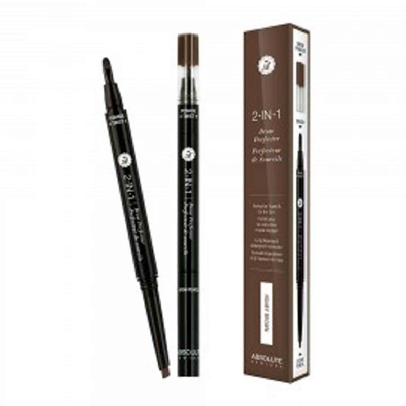 Absolute New York 2in1 Brow Perfector Honey Brown