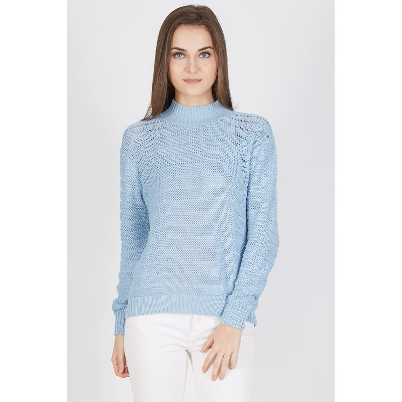 Pavi Chunky Sweater Baby Blue